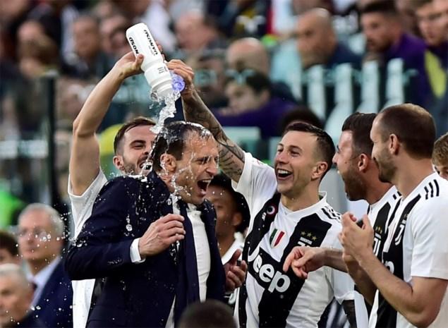 """Elf prijzen in vijf jaar en toch vieren Juventus-fans feest bij vertrek Allegri: """"Wees niet verbaasd als Mourinho of Wenger komt"""""""