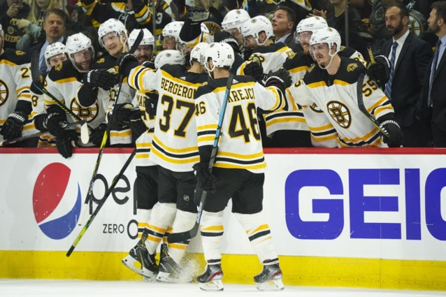 Boston is eerste finalist in Stanley Cup