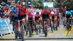 Ronde van Californië: Cortina pakt eerste profzege, Van der Breggen wint openingsrit vrouwen