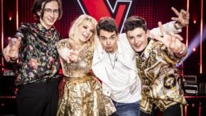 Een van deze vier wordt 'The voice van Vlaanderen'