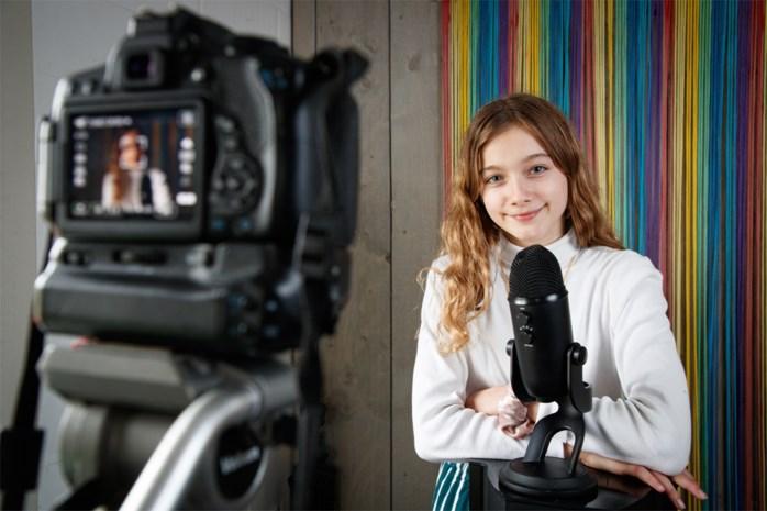 """Vlaamse Nanou (11) verovert YouTube met fluistervideo's: """"Ik heb altijd veel fantasie gehad"""""""