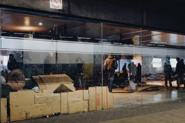 Alle migranten vertrokken uit het Noordstation