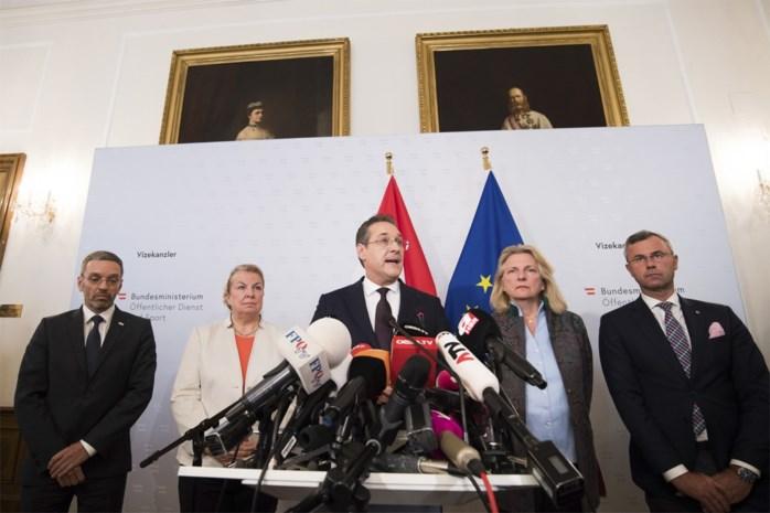 Seks, leugens en videotapes: Oostenrijkse regering valt na gelekte film van extreemrechtse vicekanselier