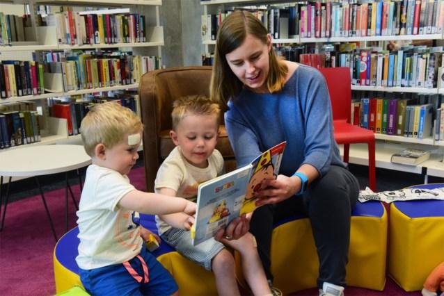 Boekbabyborrel in bibliotheek