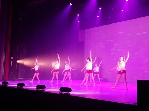 Danscentrum Pirouette met Temporé , was top in CC de Meent