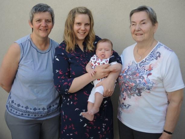 Vier generaties op een rij