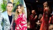 Robbie Williams vraagt zijn vrouw (alweer) ten huwelijk als verrassing op haar verjaardag
