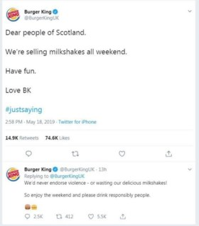 Waarom fans van Nigel Farage niet meer naar Burger King gaan