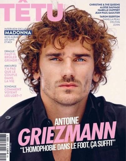 """Antoine Griezmann maakt statement met coverfoto: """"Homofobie is een misdaad"""""""