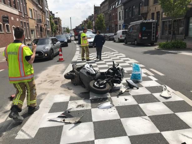 Motorrijder gewond bij ongeval in Kortrijk
