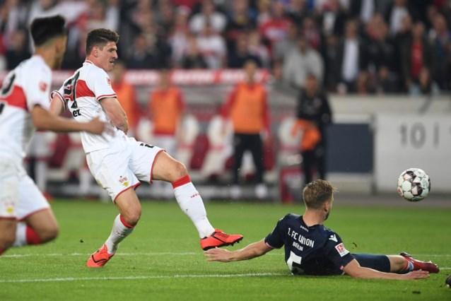 Tweedeklasser Union Berlijn houdt Stuttgart op gelijkspel in barrages Bundesliga