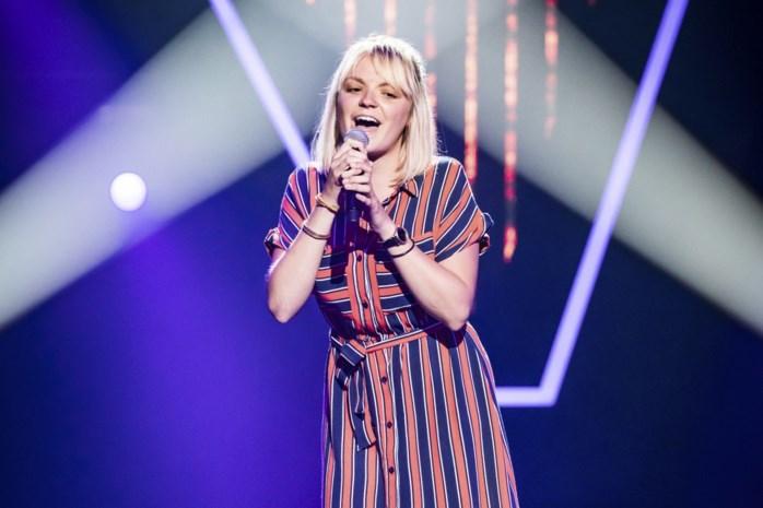 Fee (24) hoopt op finaleplaats in The Voice van Vlaanderen