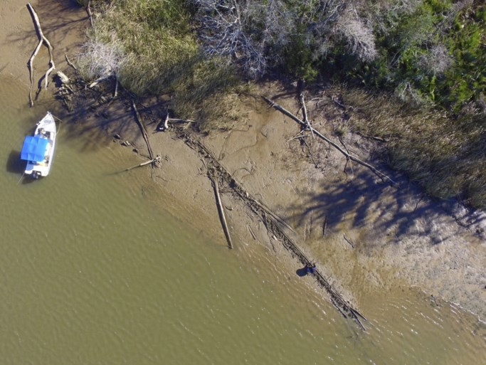 Laatste slavenschip dat ooit in VS aankwam teruggevonden in Alabama
