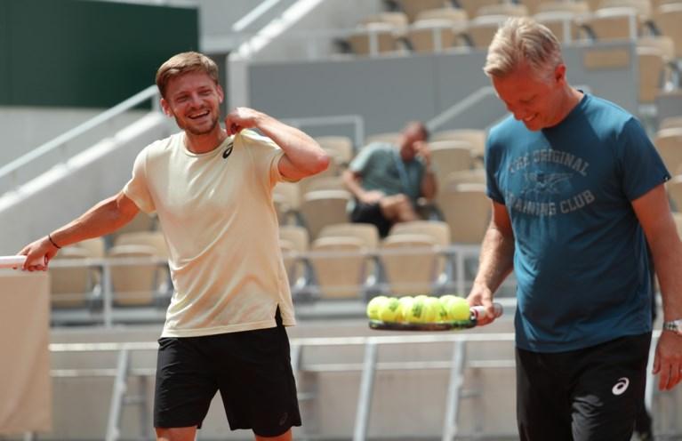 Gunstige loting voor Belgen op Roland Garros , David Goffin mag dromen van clash met Nadal