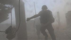 Ploeg van Sky News aangevallen door regeringstroepen in Syrië