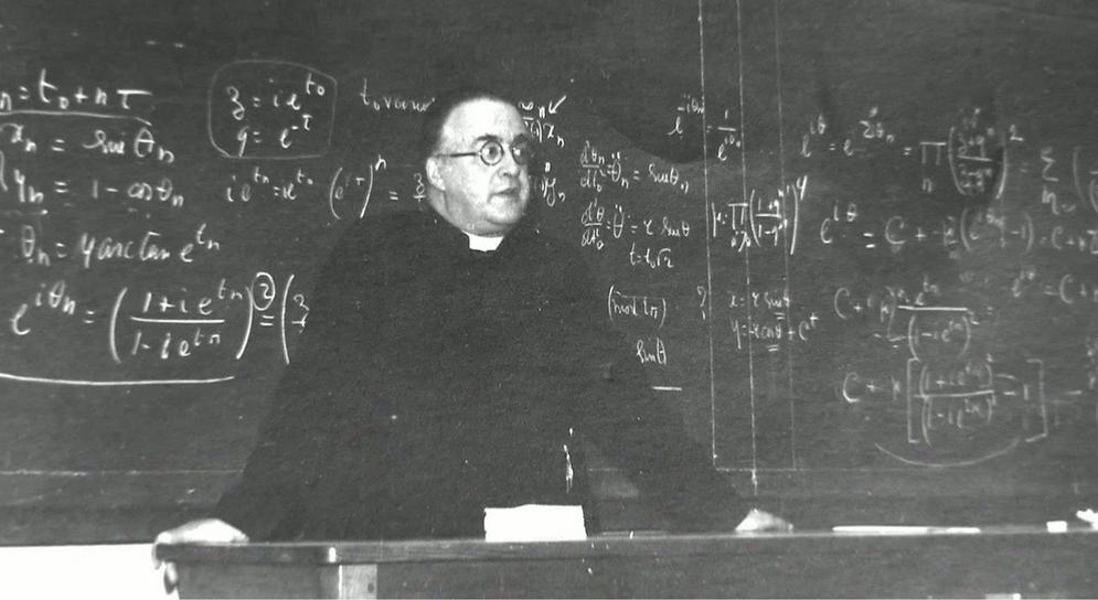 """De Belgische Prof Tegen Wie Einstein Zei: """"Excuses, Uw"""
