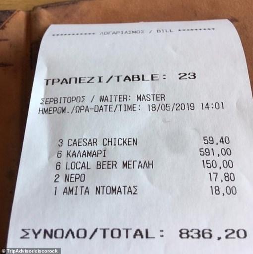"""Man waarschuwt toeristen voor restaurant: """"Ga hier nooit eten, het is een valstrik"""""""