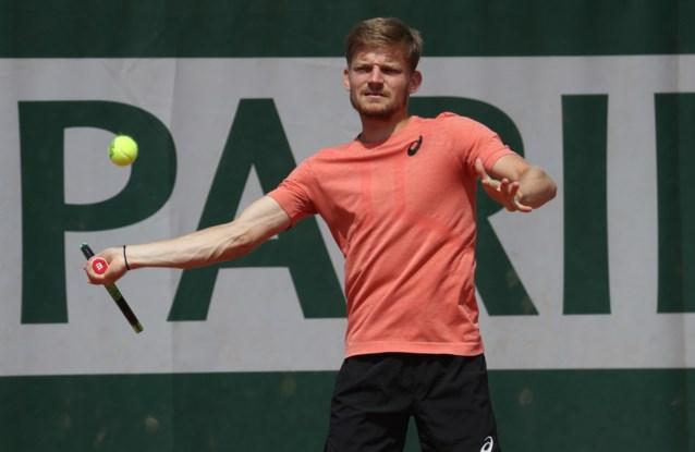 """David Goffin begint zondag met vraagtekens aan Roland Garros: """"Ben ooit met meer zelfvertrouwen in Parijs toegekomen"""""""