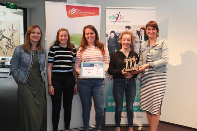 Minionderneming Bliss van Leiepoort Sint-Hendrik krijgt prijs als 'Beste team'