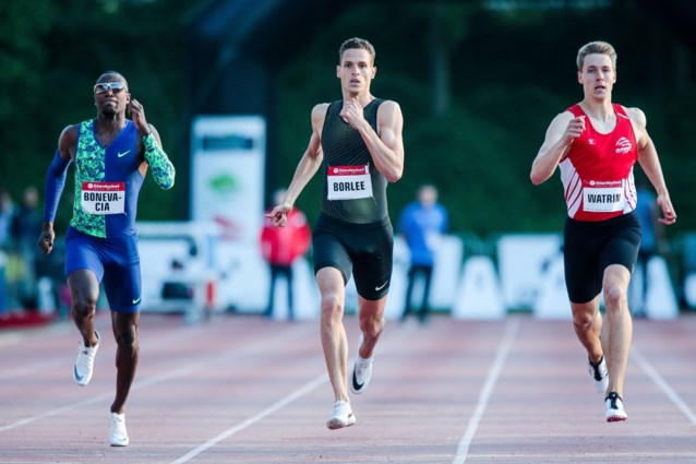 Dylan Borlée en Camille Laus winnen 400 meter op IFAM Oordegem