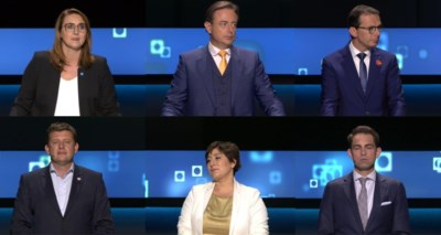 De partijvoorzitters gewikt en gewogen in de slotdebatten: geen uitgesproken winnaars en één heel diep dieptepunt