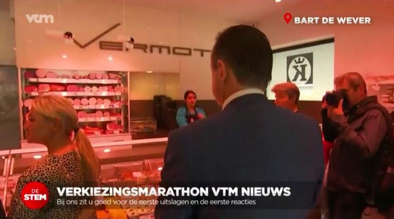 Liveverslaggeving kreeg nieuwe dimensies: VRT en VTM gingen overàl live, zelfs bij de beenhouwer en de kapper