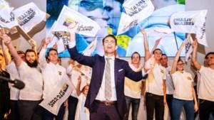 """Hoe Tom Van Grieken Vlaams Belang naar nieuwe hoogten stuwde: jong, afgelikt, met sociaal gelaat en """"groots in de overwinning"""""""