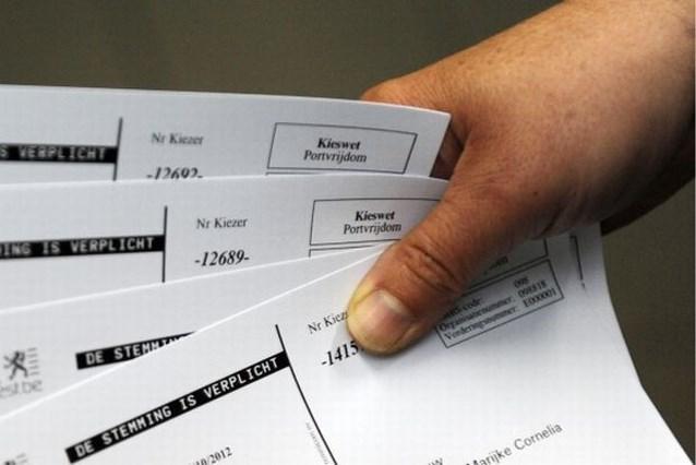 Oproepingsbrieven verkiezingen door fout niet bedeeld in deel Zaventem