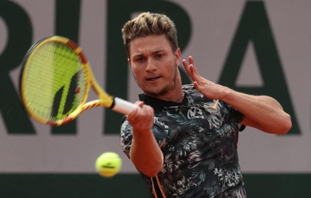 David Goffin kent tegenstander in tweede ronde Roland Garros