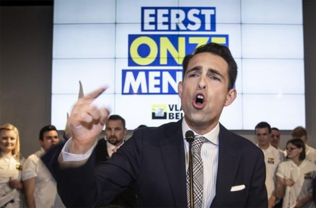 Vlaams Belang is terug, samen met de discussie over cordon, schrijven de kranten