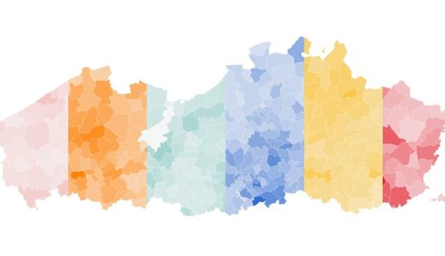 De doorbraak van Vlaams Belang in West-Vlaanderen en de almacht van N-VA in Antwerpen: waar haalden de partijen hun stemmen?