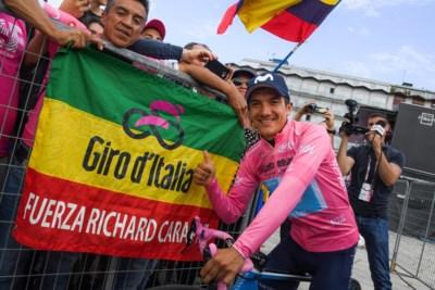 Van boerenzoon tot roze Richie: tien dingen die u moet weten over Giro-leider Richard Carapaz