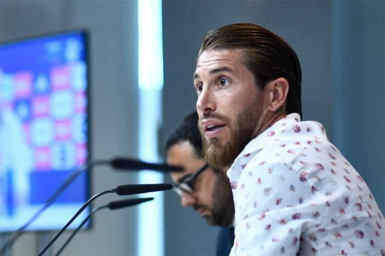 """Sergio Ramos drukt transfergeruchten de kop in en hoopt op komst Hazard: """"Hij kan ons veel bijbrengen"""""""
