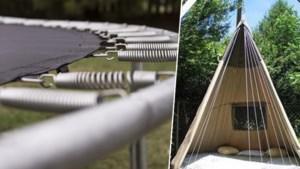 Geef je trampoline eens een tweede leven als… schommelbed