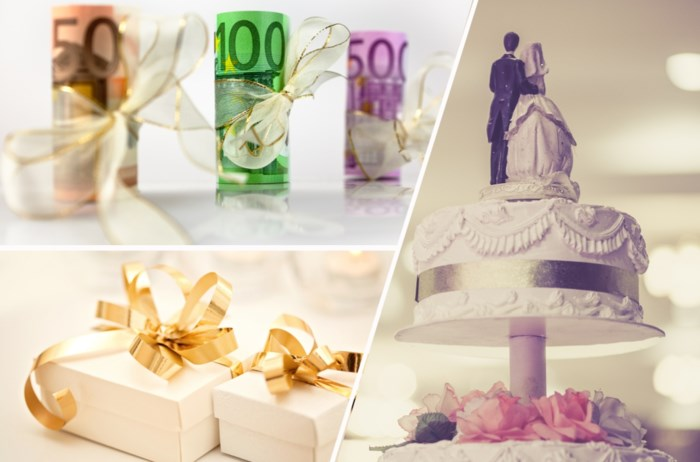 Hoeveel moet je geven op een trouwfeest? En schrijf je geld over, neem je een enveloppe mee of koop je toch maar een cadeau?