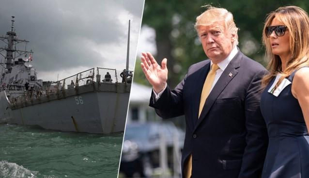 E-mail onthult: naam torpedojager moest verstopt blijven bij bezoek van Trump aan Japan