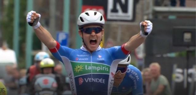Fransman Boudat is Baptiste Planckaert te snel af in Circuit de Wallonie