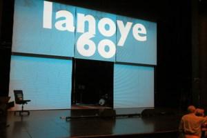 Tom Lanoye voert zichzelf en Vooruit naar een literair showorgasme