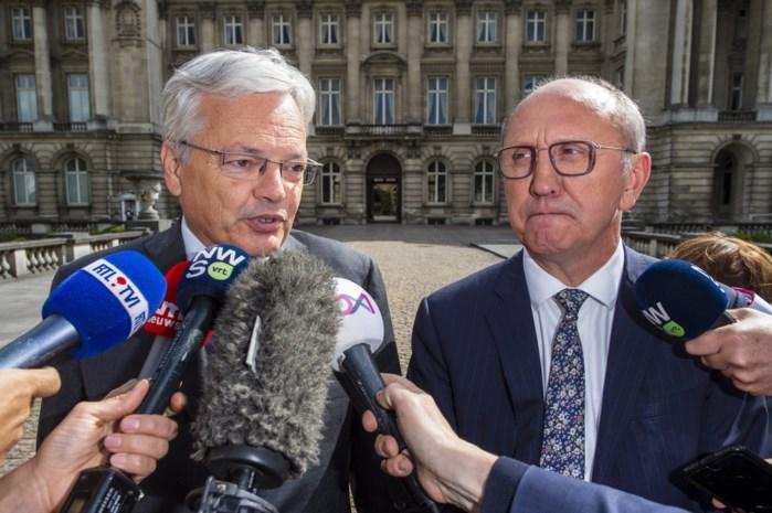 Didier Reynders (MR) en Johan Vande Lanotte (SP.A) hebben één missie: de knoop ontwarren