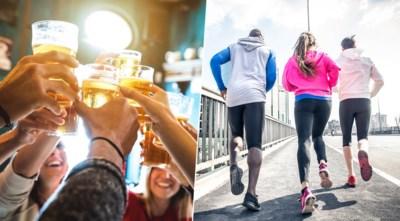 """Doet alcohol je training teniet? """"Vrouwen kunnen een glaasje meer verdragen dan mannen"""""""