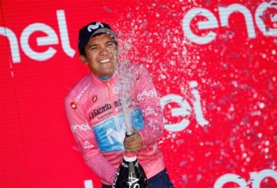 ANALYSE. Carapaz zeker van eindzege, Nibali was tijdens Giro straffer in zijn uitspraken dan in zijn prestaties