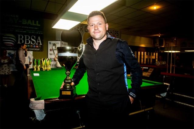 Kevin Hanssens is tweede keer Belgisch kampioen snooker