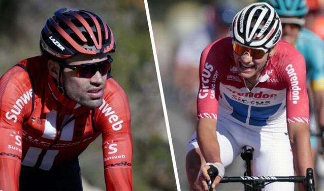 """Overname tussen sponsors Sunweb en Corendon, wat met wielerploegen van Mathieu van der Poel en Tom Dumoulin? """"Niet aan de orde"""""""