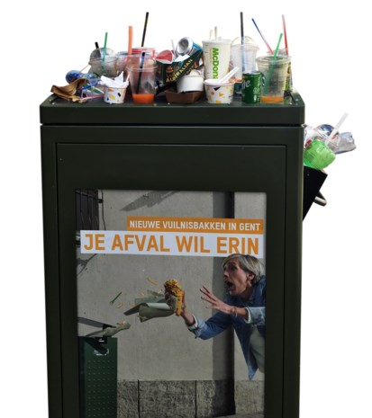 Slimme vuilnisbakken te dom voor kapstokken en schoenendozen