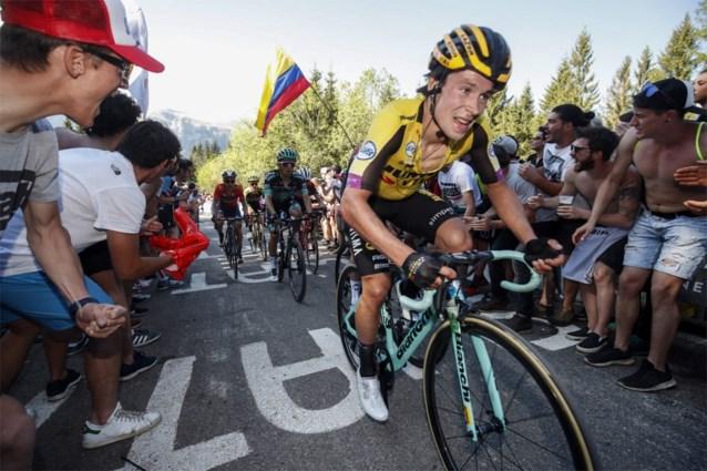 Primoz Roglic is er nog niet uit voor de Tour de France
