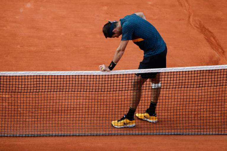 Juan Martin del Potro uitgeschakeld op Roland Garros door 23-jarige Rus Karen Khachanov