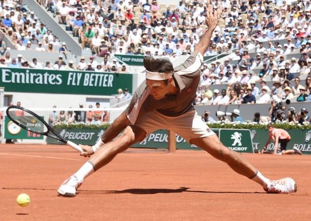 Samenstelling kwartfinales Roland-Garros