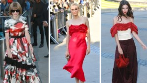 De rode jurk als rode draad op 'Oscars van de mode'