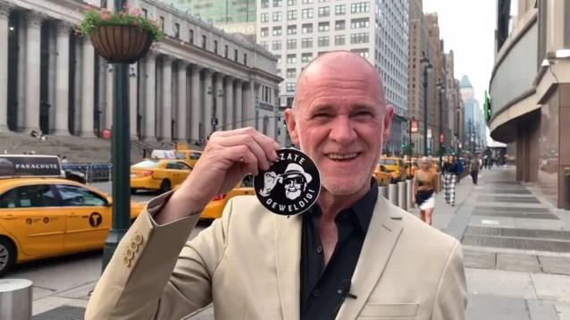 """VIDEO. Ook vanuit Amerika steun voor Zelzate Geweldig: """"Eddy heeft mij nog een 'sjakosse' proberen te verkopen"""""""