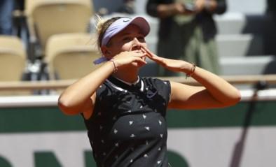 """Amanda Anisimova, 17 jaar en dé revelatie van Roland Garros: """"Ik weet dat ik goed kan tennissen"""""""